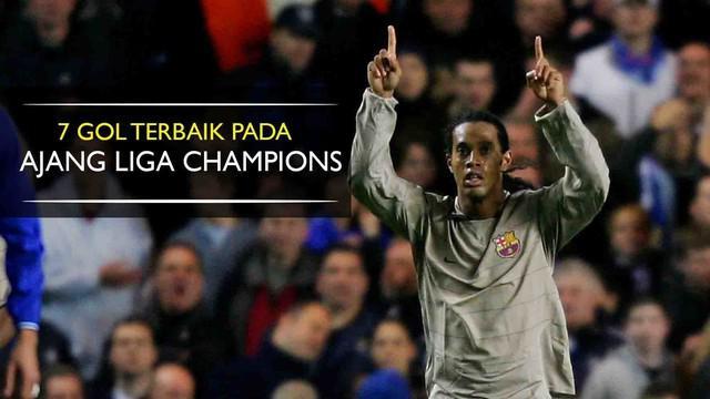 Ronaldinho pernah mengelabui Petr Cech saat Chelsea menjamu Barcelona pada 2005 silam