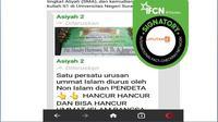 [Cek Fakta] Viral Nama Markus Pimpin Kanwil Kemenag Gresik