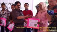 Kementan beri bantuan alsintan petani Pesisir Selatan senilai Rp 590 juta (foto: dok. Kementan).