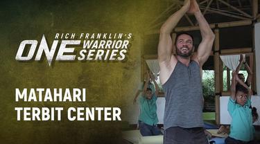 Berita Video Saat Legenda MMA, Rich Franklin Berkunjung ke Matahari Terbit Center