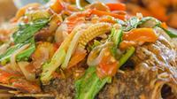 Ikan mujair juga nikmat di asam manis. Bagaimana caranya?