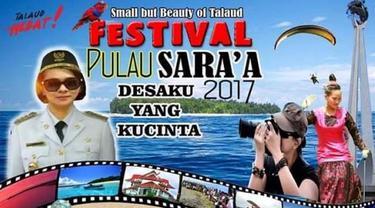 Wow, Ada 1.000 Ciuman untuk Bupati Talaud di Festival Pulau Sara