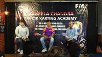 Akheela Chanda (tengah) saat memberi keterangan pers (istimewa)