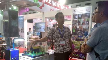 Mochamad Awaluddin, pencipta alat pengusir hama pertanian bertenaga surya.