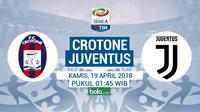 Serie A Crotone Vs Juventus (Bola.com/Adreanus Titus)
