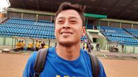 Striker Barito Putera, Samsul Arif. (Bola.com/Erwin Snaz)