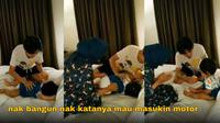 Momen bikin kesal saat udah tidur (Sumber: Twitter/istirahatsiang)