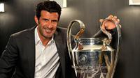 Luis Figo ingin Real Madrid juara Liga Champions ke-12 kalinya. (UEFA.com)