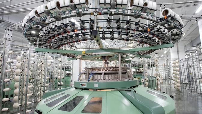 Ilustrasi mesin tekstil (unsplash)