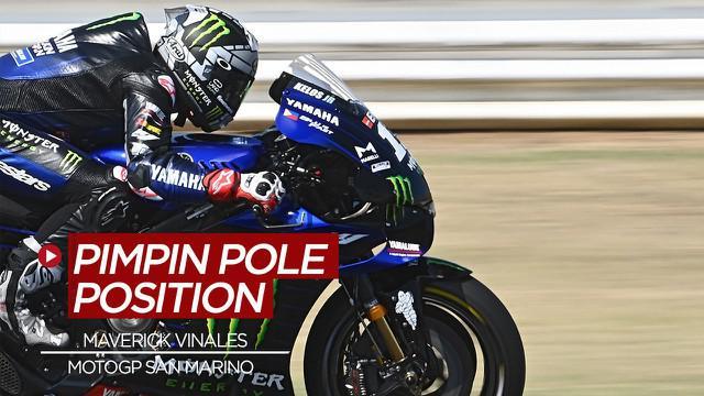 Berita Video Pembalap Yamaha Dominasi Kualifikasi MotoGP San Marino, Maverick Vinales Terdepan