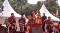 Gambang Kromong Jadi Pengiring Musik di Puncak Cap Go Meh (Foto: Okti Nur Alifia)