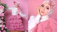 Gaya Pemotretan Jihan Audy Dalam Tema Serba Pink. (Sumber: jihanaudy123_real)