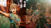 Potret Ayu Maulida Saat Kenakan Kostum Tari Merak. (Sumber: Instagram/ayumaulida97)