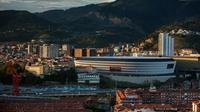 Stadion San Mames, Bilbao, akan menjadi venue pertandingan Piala Eropa 2020.  (FOTO / Ath)