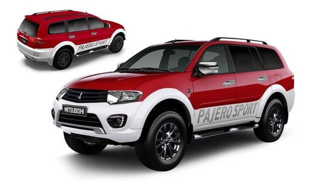 9100 Koleksi Gambar Mobil Pajero Sport Merah HD Terbaik