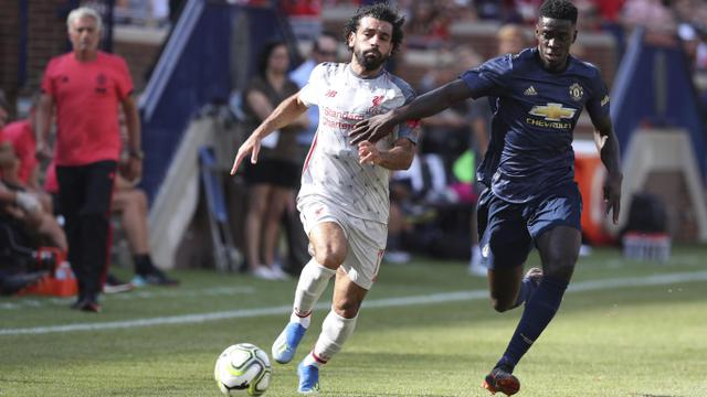 Manchester United, Liverpool, International Champions Cup 2018