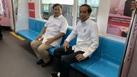 Jokowi dan Prabowo (Sumber: Twitter/pramonoanung)