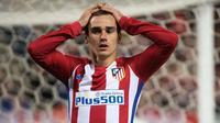 Striker Atletico Madrid asal Prancis, Antoine Griezmann. (AFP/Curto de la Torre)