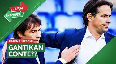 Berita video bursa transfer Simone Inzaghi meninggalkan Lazio sebagai manajer akhir musim ini.