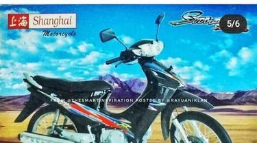 Mirip dengan Suzuki Smash ya Otolovers?