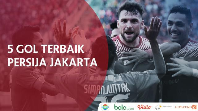 Berita video 5 Gol Terbaik Persija di Piala Presiden 2018.