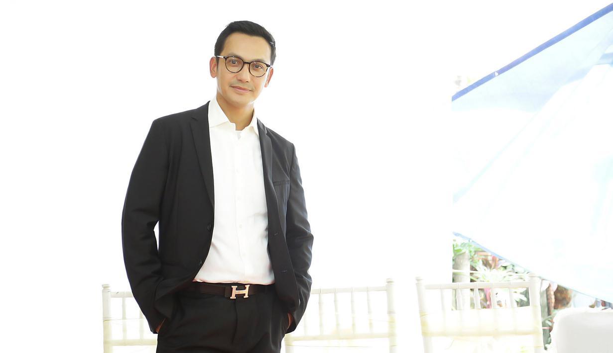 Gunawan Sudrajat sinetron terbaru Putri Mahkota di ANTV. (Bambang E Ros/Fimela.com)