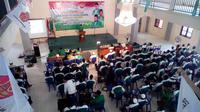 Konfercab GP Ansor Kabupaten Bangkalan pada 2016, Hasani Zuber terpilih secara aklamasi.
