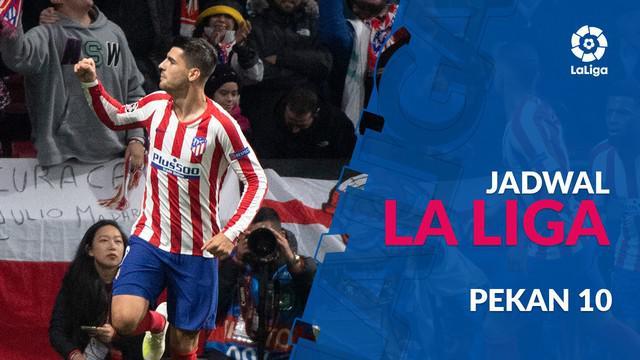 Berita video jadwal La Liga 2019-2020 pekan ke-10. Atletico Madrid menjamu Athletic Bilbao, El Clasico ditunda.