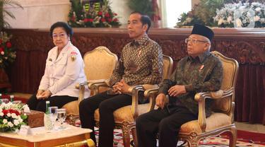 Bersama Megawati, Jokowi Beri Arahan Pembumian Pancasila
