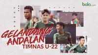 5 gelandang andalan Timnas Indonesia U-22 di Piala AFF 2019. (Bola.com/Dody Iryawan)