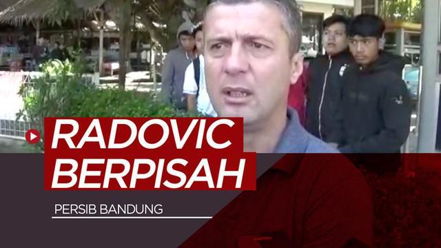 Berita video momen perpisahan antara Miljan Radovic dengan para pemain Persib Bandung, Jumat (3/5/2019).