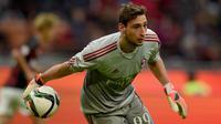 Penjaga gawang AC Milan, Gianluigi Donnarumma. (Dok. Inter Milan)