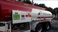 Peluncuran penerapan Biodiesel 20 persen (Foto:Liputan6.com/Ilyas I)