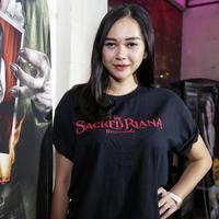 Aura Kasih. (Adrian Putra/Bintang.com)