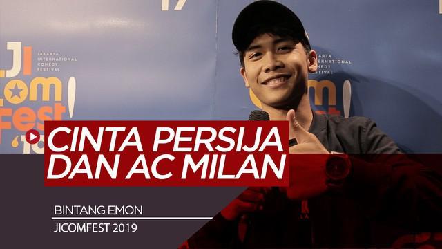 Berita Video Komika JICOMFEST 2019, Bintang Emon Favoritkan Persija dan AC Milan