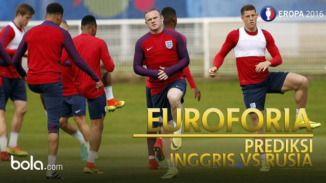 Inggris akan menghadapi Rusia pada penyisihan grup B Piala Eropa 2016 di Stade Velodrome.