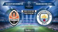 Liga Champions 2018 Shakhtar Donetsk Vs Manchester City (Bola.com/Adreanus Titus)