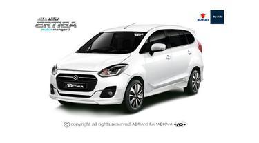 Rendering Suzuki Ertiga generasi terbaru.