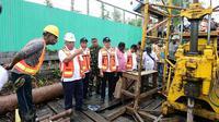 Kementerian PUPR bangun infrastruktur penyediaan air bersih dan sanitasi di Kabupaten Asmat, Papua.