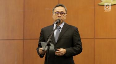 Ketua MPR Pimpin Pergantian Antar Waktu Anggota MPR