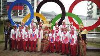 Seperti apa penampakan kain tapis Lampung yang memukau banyak orang di Olimpiade Rio 2016? Lihat di sini.