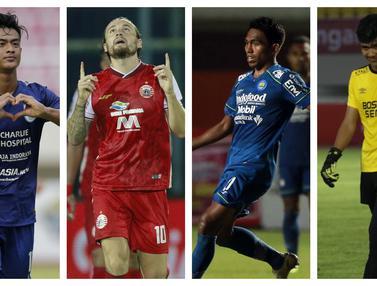 FOTO: Starting XI Terbaik Piala Menpora 2021 Versi Bola.com, Pemain Persib dan Persija Bersaing