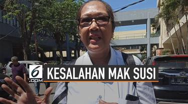 Tri Susanti alias Mak Susi dianggap sebagai pemicu aksi kerusuhan mahasiswa Papua.