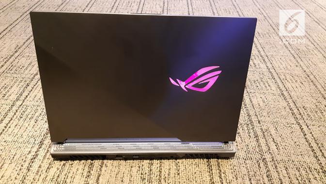 Foto laptop gaming Asus ROG Strix seri Scarr III dan Hero III yang akan dirilis di Indonesia. (Liputan6.com/ Agustin Setyo W)