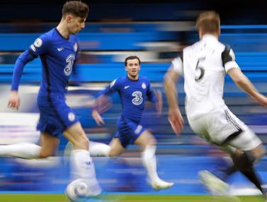 FOTO: Kai Havertz Borong Dua Gol Chelsea saat Bertemu Fulham