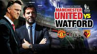 Manchester United vs Watford (Liputan6.com/Abdillah)