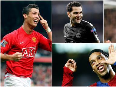 Berikut ini delapan pembajakan transfer pemain paling sensasional di jagat sepak bola dunia. Tiga diantaranya, Cristiano Ronaldo, Ronaldinho dan yang terbaru adalah Malcom. (Foto-foto AP dan AFP)
