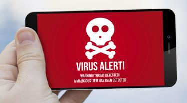 Aplikasi terserang malware