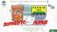 Liga 1 2018 Pusamania Borneo FC Vs Persib Bandung (Bola.com/Adreanus Titus)