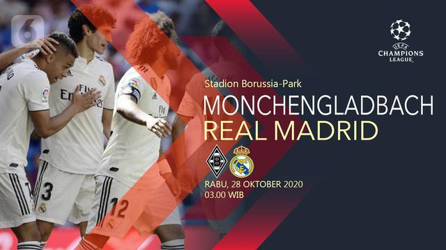 3 Serba Serbi Menarik Monchengladbach Vs Real Madrid Di Liga Champions Bola Liputan6 Com